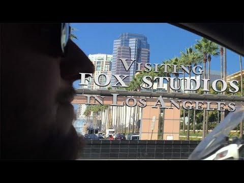 Visiting FOX STUDIOS In Los Angeles