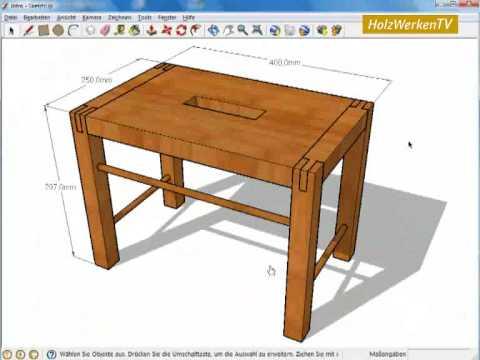 SketchUp – die Grundlagen