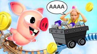 ПОБЕГ ПОРОСЕНКА! Bacon Escape!