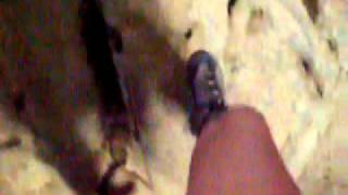 Crazy horse buttress, climbing.