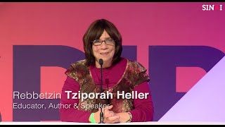 Rebbetzin Tziporah Heller:  The Balancing Act