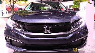 2020 Honda Civic Touring - Exterior Interior Walkaround - 2019 LA Auto Show