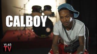Calboy on Choosing His Name: