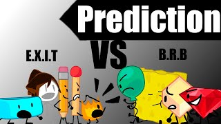 BFB Prediction as of BFB 21