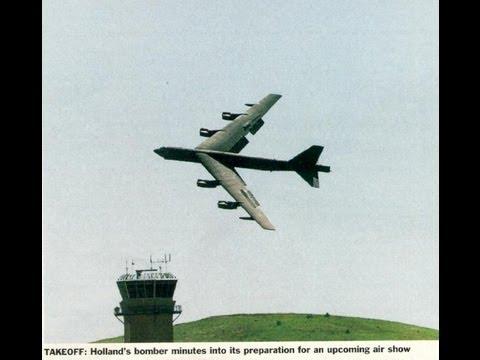 B 52 JET AIRCRAFT CRASH At Fairchild Air Force base. All Hell Breaks Loose by Roy Dawson Realtor