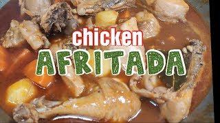 Chicken Afritada(How to Cook Chicken Afritada)Lutong PinoyPanlasang Pinoy
