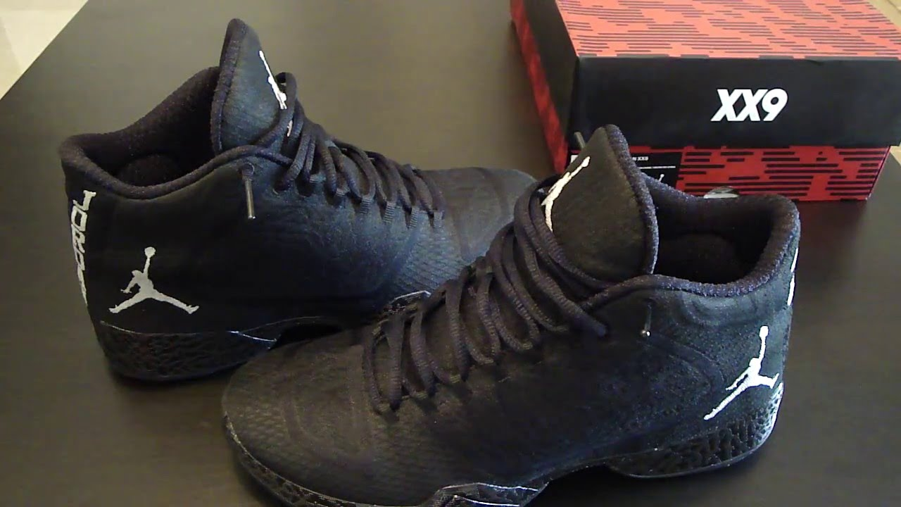 Air Jordan Xx9 Examen Black-out Britney