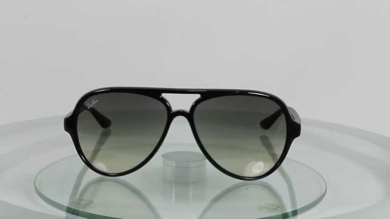 25cd2cc3b7 Ray-Ban RB4125 601 32 Cats 5000 - YouTube