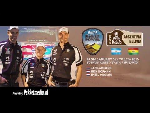 Dakar 2016 Ginaf Rally Power