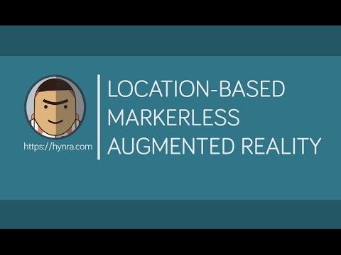 Unity 5 : Location-Based markerless Augmented Reality Tutorial