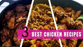 💥💥👇👇👇 written recipe link | amazon links helpful links🤩👇👇👇💥💥three yummy and tasty chicken recipes that you could enjoy with hot steaming rice...