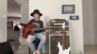 Guitar give away at 100k subscribers (taj farrant)