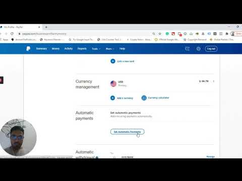 How to Change PayPal's Default Currency Conversion Setting
