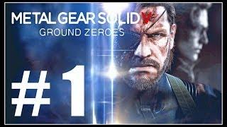 Metal Gear Solid 5 Ground Zeroes [PS4] Gameplay Walkthrough ITA Parte 1 - SI COMINCIA!
