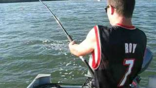 monster fish caught in the columbia river by the dalles