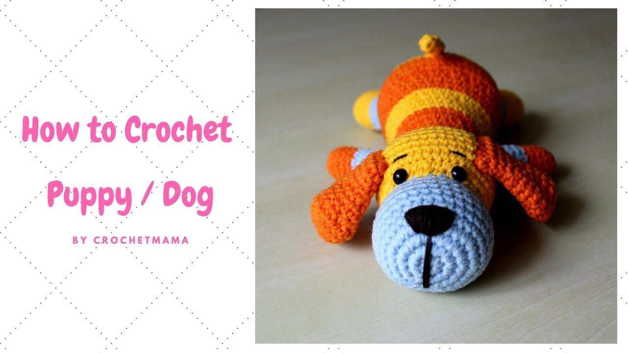 Crochet Puppy Dog Pals | Crochet character hats, Crochet hat free ... | 720x1280