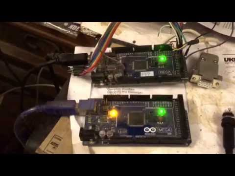 Uccnc modbus slave control panel (arduino mega)