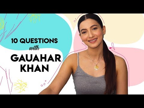 10 Questions With Gauahar Khan | Hauterfly | Fashion Interview | Bollywood | Fashion