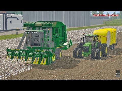 New Cotton Harvester - Farming Simulator 2017 American Map | FS 2017 LS17 Mods