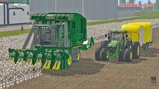 New Cotton Harvester - Farming Simulator 2017 American Map   FS 2017 LS17 Mods