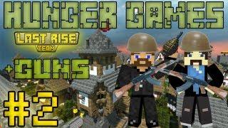 видео: Рядовые Евгеха и Свордкипер - Minecraft Hunger Games #2 [+guns] [LastRise]