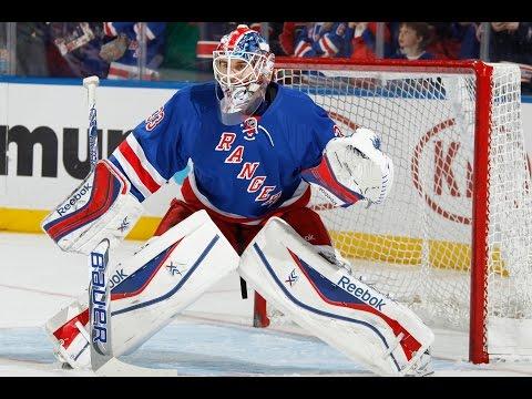 New York Rangers Cam Talbot Tribute-