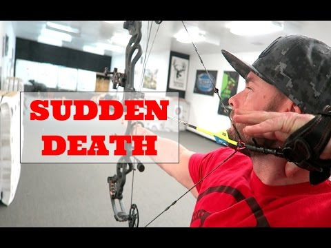 SUDDEN DEATH ARCHERY COMPETITION and SHED HUNT!