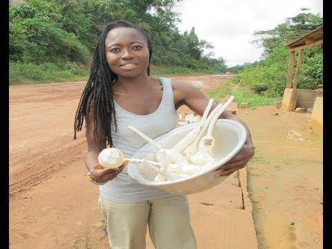 GHANA Vlog: MUSHROOMS & ROAD-SIDE FOOD