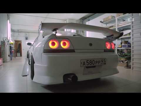 ДРИФТ НА ЛЬДУ! Nissan Skyline R33