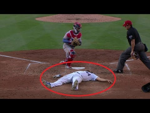 MLB Unexpected Plays of 2018 ᴴᴰ