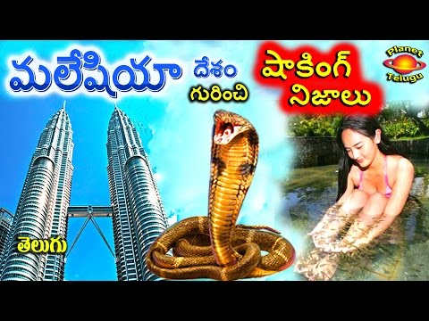 Malaysia country Most Shocking Facts in Telugu by Planet Telugu