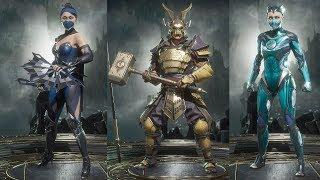 Mortal Kombat 11 All Character Costumes / Outfits / Skins - Showcase