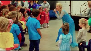 """Let It Go"" Frozen - (LIVE) - Elizabeth South - DA 1st Grade - US Figure Skating #Fanfest"
