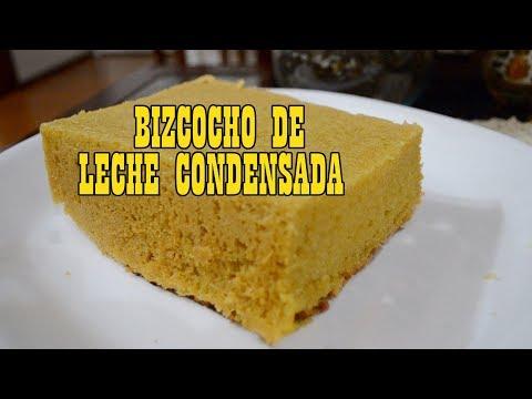 COMO HACER BIZCOCHO DE LECHE CONDENSADA
