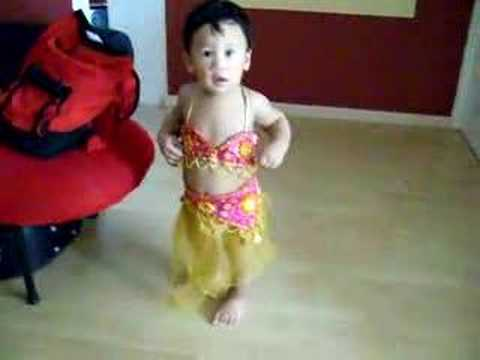 Baby Dann 15 Mths Old Belly Dancer In Disguise Youtube - Baby Belly Dance Video