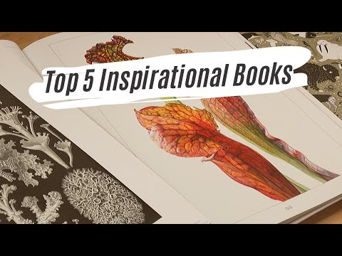 My Top 5 Favourite Inspirational Art books for Botanical Art and Natural Science Illustration