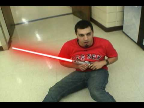 Star Wars Real Lightsaber Duel