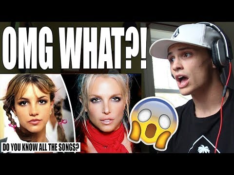 Britney Spears Music Evolution (1998 - 2016) REACTION