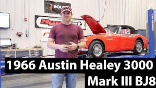 Driving and Dyno Testing a 1966 Austin Healey 3000 Mark III BJ8