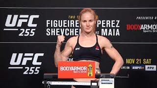 UFC 255: Церемония взвешивания смотреть онлайн в хорошем качестве - VIDEOOO