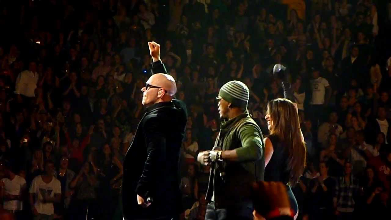 Pitbull Feat Ne Yo And Nayer Give Me Everything 11 4 11 Madison Square Garden Nyc