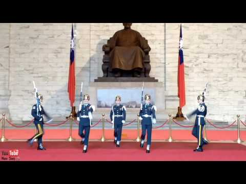 Changing of the Guards, Chiang Kai Shek Memorial Hall, Taipei, Taiwan