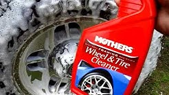Mothers foaming wheel & tire cleaner test review