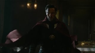 Benedict Cumberbatch's Reaction to Wearing Doctor Strange's Cloak for the First Time