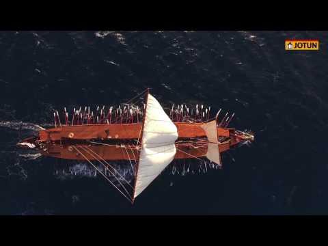 JOTUN supports replica of Greek Trireme warship