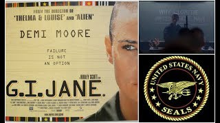 GI Jane - Why I love the U.S. Navy - training scene
