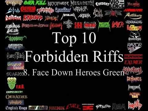Forbidden riff guitar