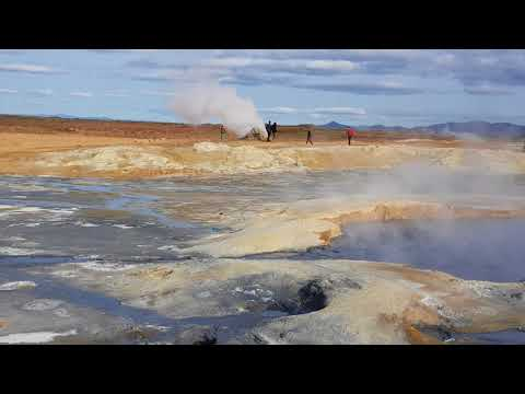 Hverir Geothermal High Temperature Area, Iceland
