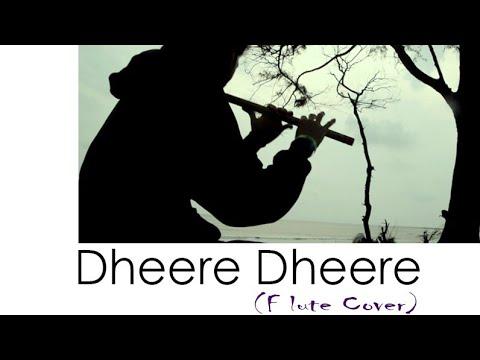 Dheere Dheere   Flute Cover   Chandrajit Kamble