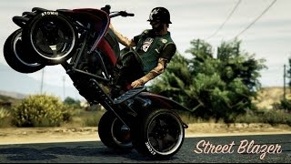 GTA 5 Online | Street Blazer Customization Guide, Test Drive And ATV Wheelie (GTA V Bikers DLC)